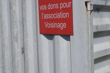 container Recyclerie Voisinage