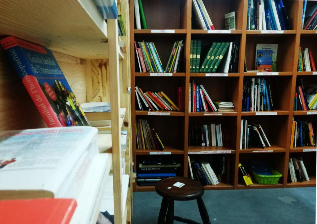 coin livres Voisinage