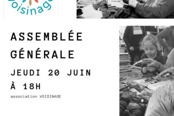 Assemblée Générale Voisinage Jeudi 20 Juin 2019