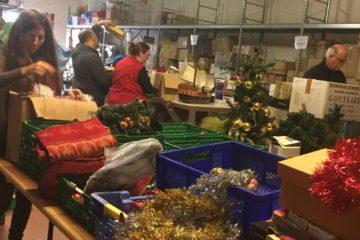 Les lutins du Pere Noel de Voisinage