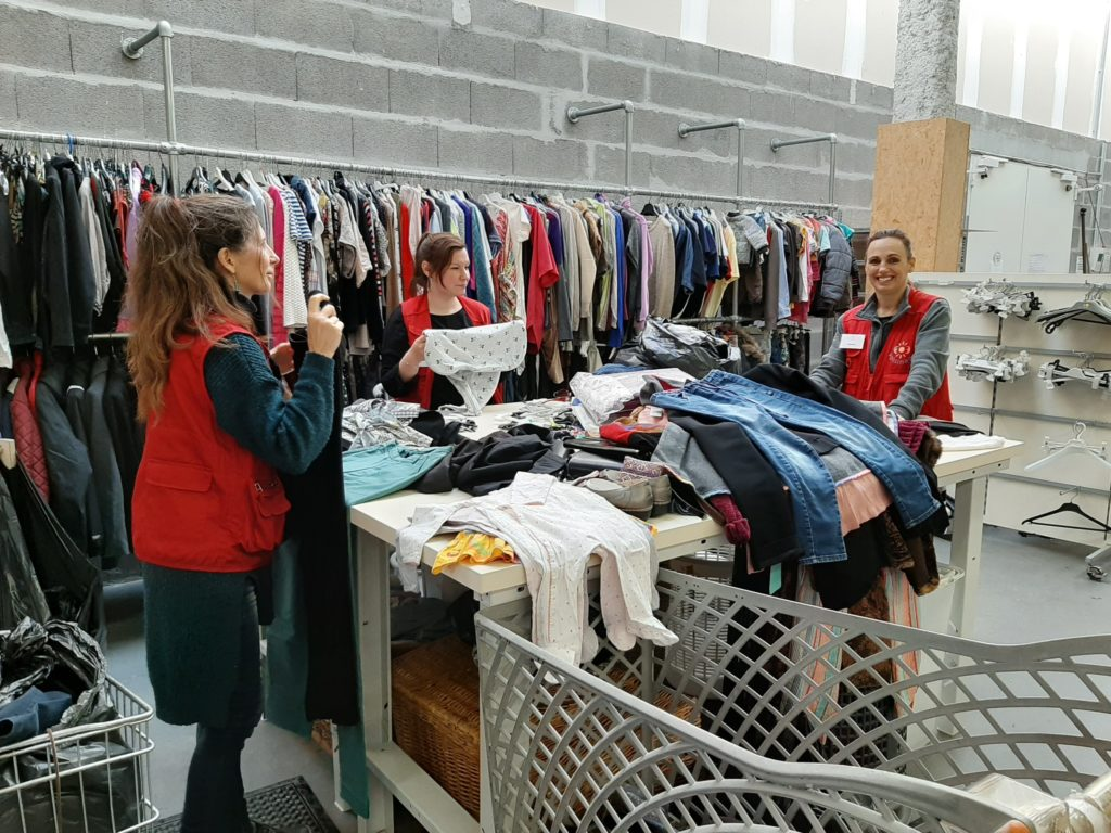 Tri textile Recyclerie Voisinage